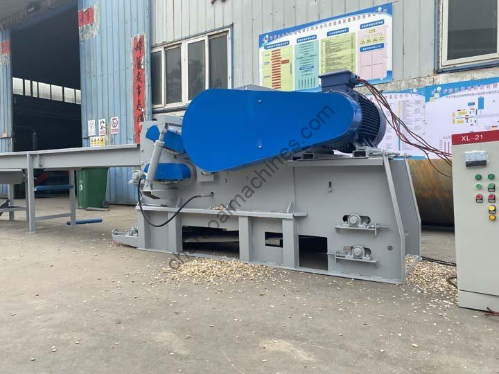 drum wood chipper machine for making wood chips