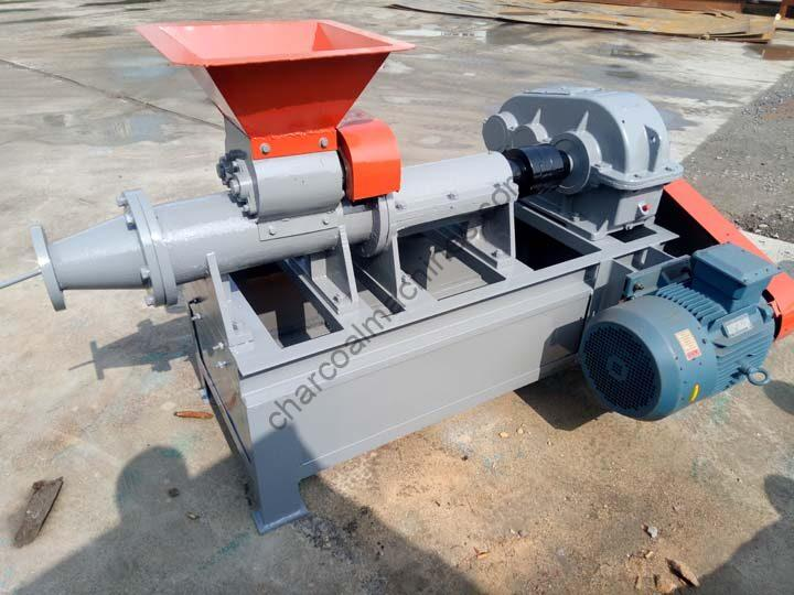 industrial briquette extruder for charcoal production