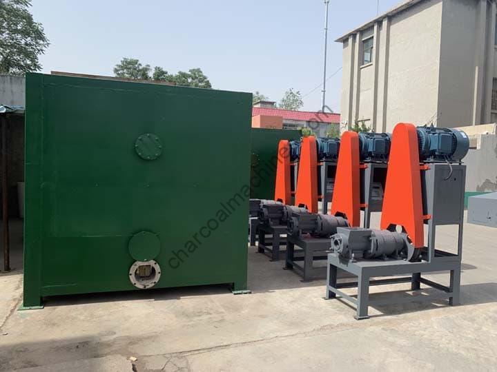 newly manufactured sawdust briquette machines