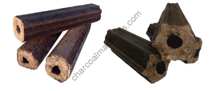 pini kay briquettes made by sawdust briquette extruder