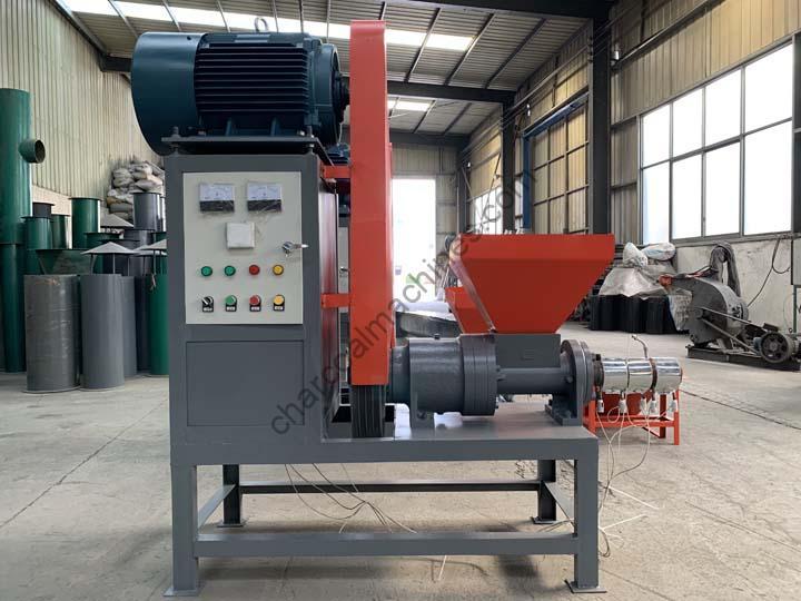 shuliy biomass briquette machine display