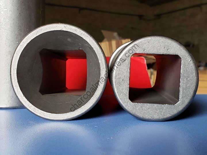 square shape mold for coal briquettes making