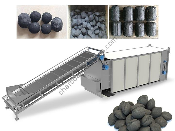 charcoal drying machine