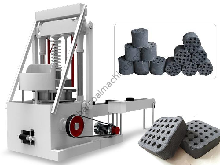honeycomb coal briquette machine