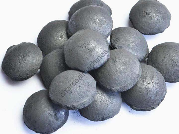 round barbecue charcoal balls
