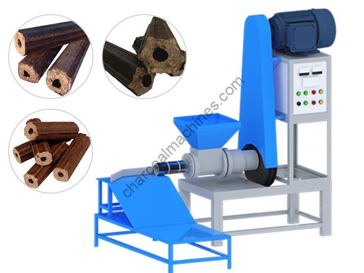 sawdust briquettes making machine