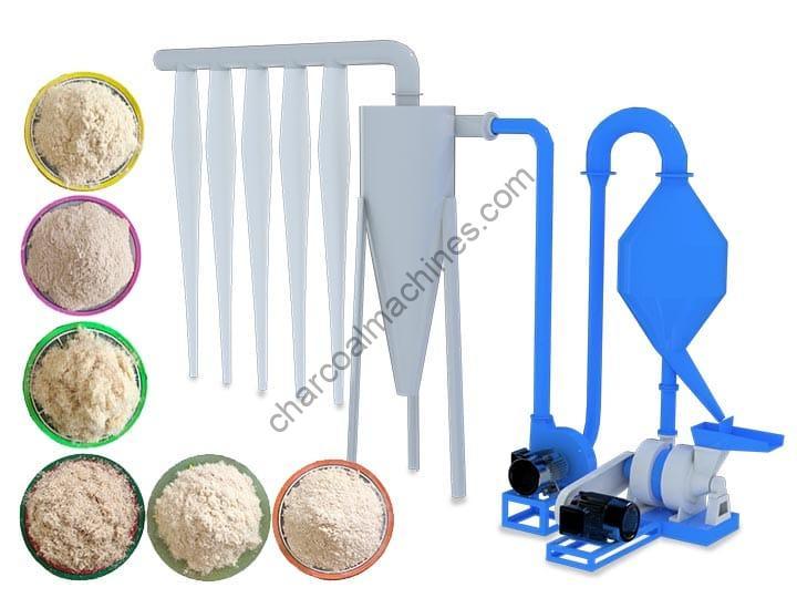 wood powder machine price