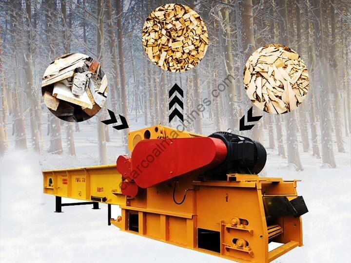 commercial wood pallet crusher for sale