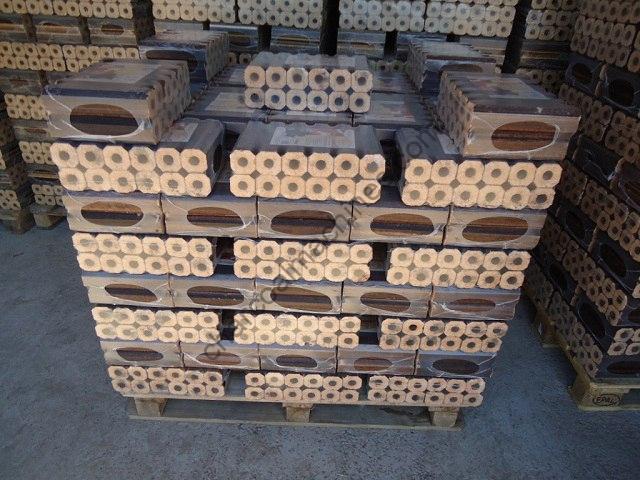 pini kay briquettes production