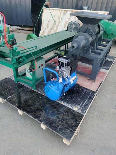 Senegal charcoal machine for shipping