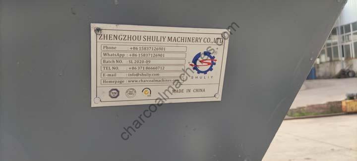 Shuliy brand charcoal machine