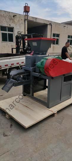 barbecue charcoal machine shipment