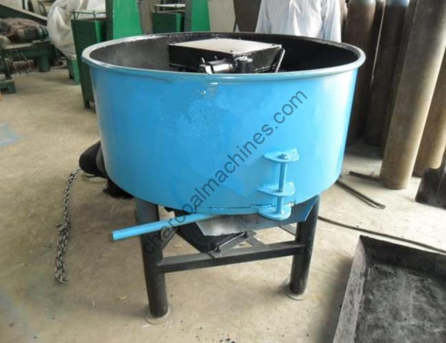 charcoal powder grinder & mixer