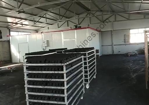 coal briquettes drying machine
