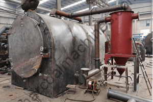 horizontal carbonization furnace