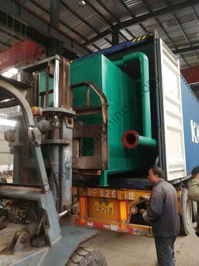 Shuliy charcoal machines shipment