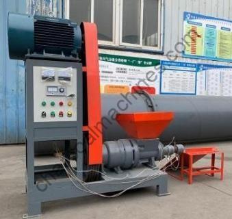 sawdust biomass briquette extruder machine