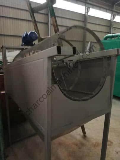 sawdust screening machine